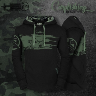 Hotspot Design mikina Carpfishing camo - XL