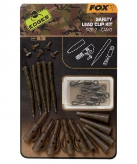 Fox Edges Camo Lead Clip Kit Size 7