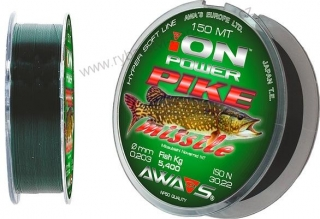 Ion Power Pike Mission 150m - 0,25mm - 8,45kg - Awa-shima