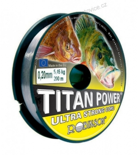 Robinson Titan Power 200m - 0,28mm - 9,55kg ULTRA STRONG CORE 200m